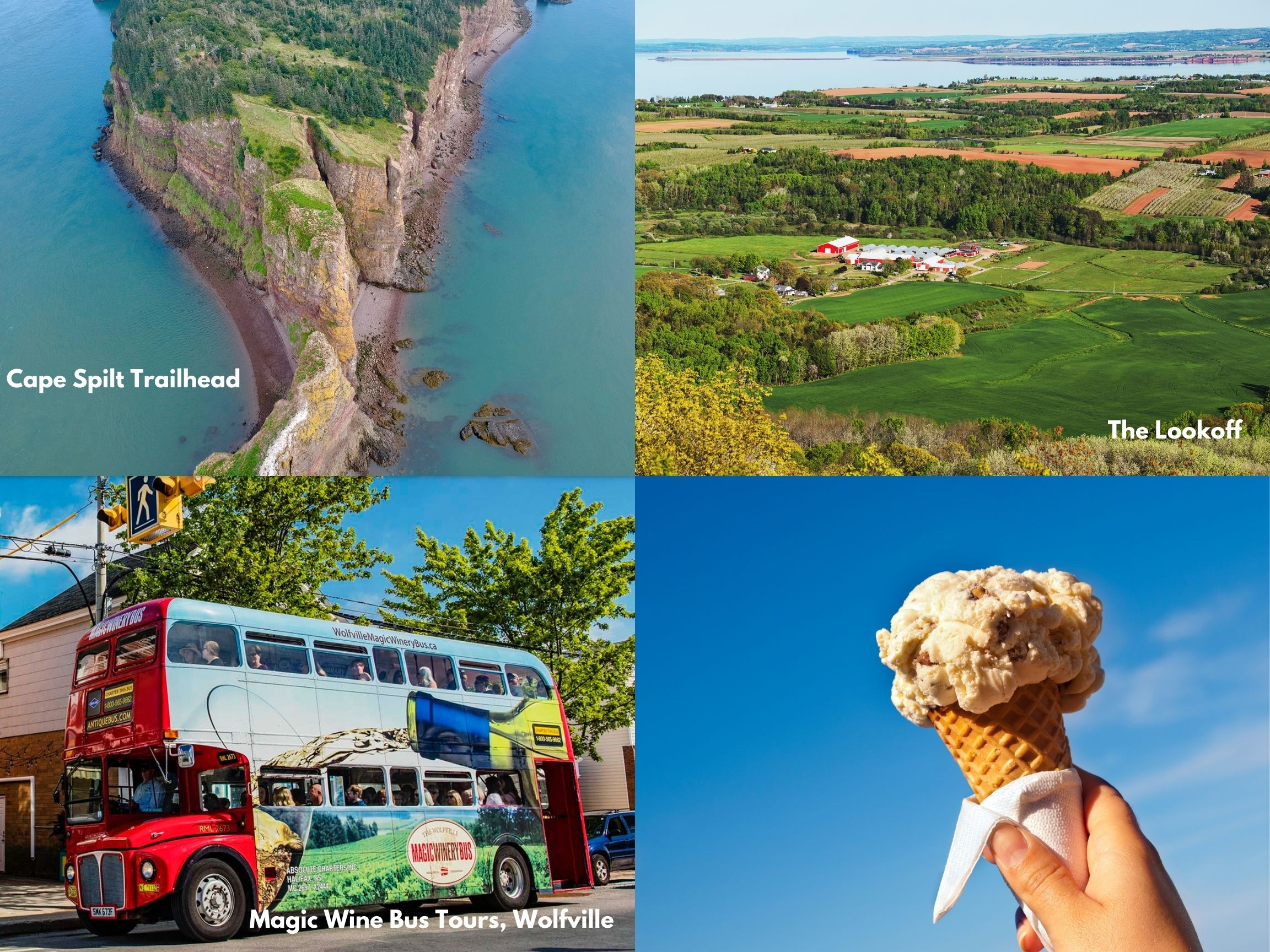 Fun Things To Do From Kingston/Greenwood to Wolfville